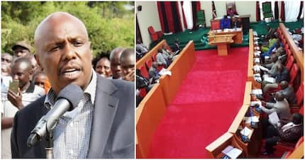 Baringo Senator Gideon Moi kicked out of office by county assembly