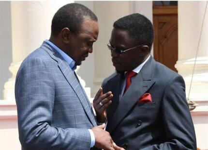 This is the major REASON why Ababu Namwamba is supporting Uhuru Kenyatta's reelection (photos)