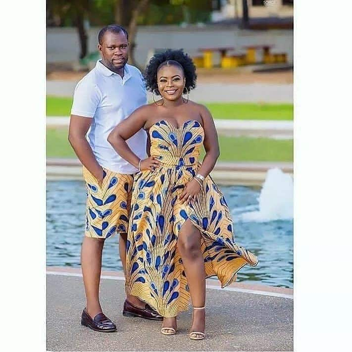 Latest Ankara Styles For Couples 2018 Tuko.co.ke