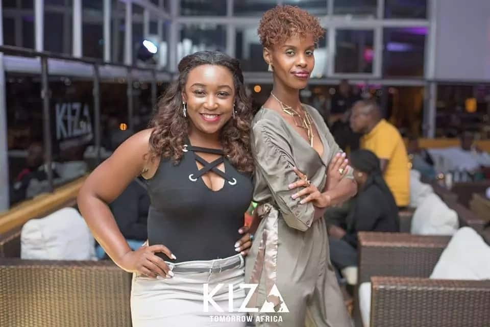 Joho and Betty Kyalo pictured partying at the same club