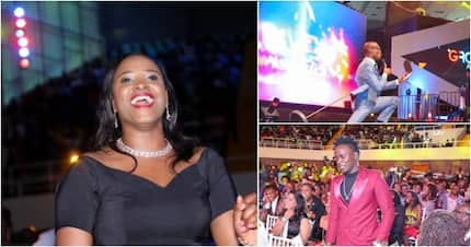 Popular Kenyan celebs go flat out to show off their fashion sense at Groove awards
