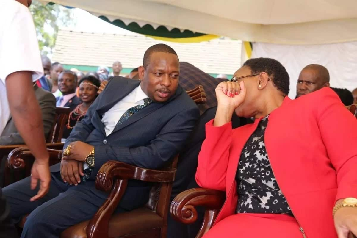 Sonko admits he's not fully in charge of Nairobi county