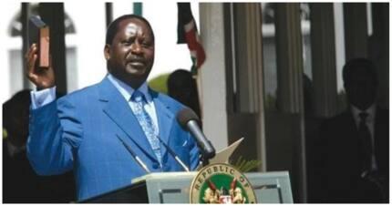 Raila Odinga afanya jaribio la uapisho Machakos
