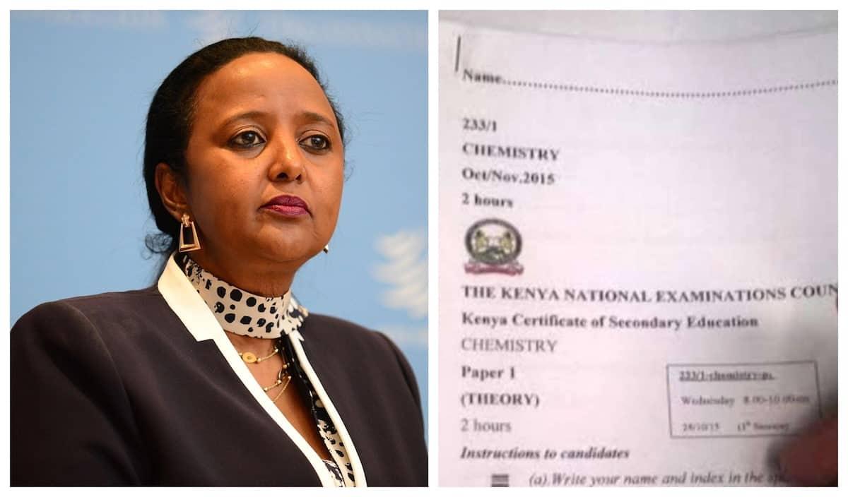 Striking students demanding head teachers facilitate KCSE cheating - CS Amina Mohamed