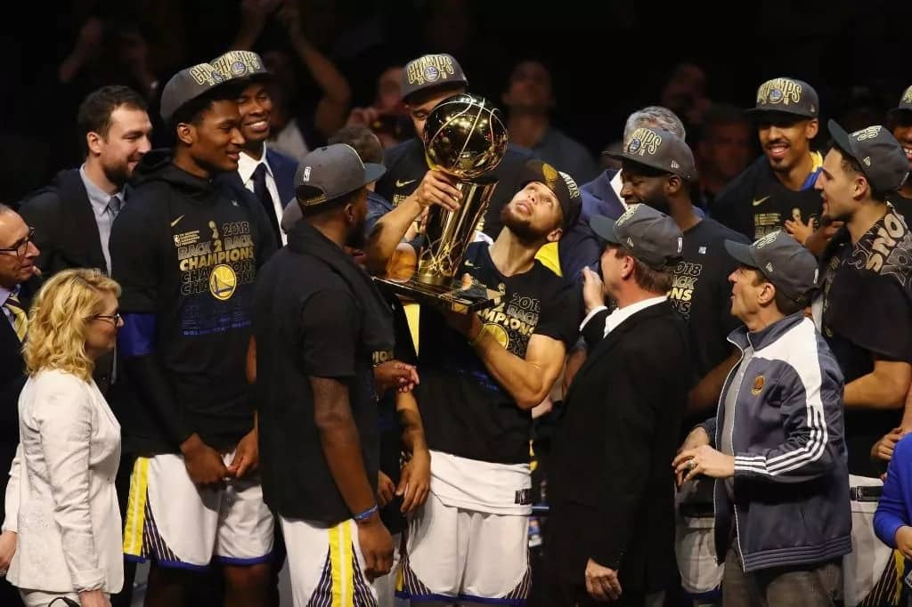 Stephen Curry leads Golden State Warriors to win third NBA title in four years