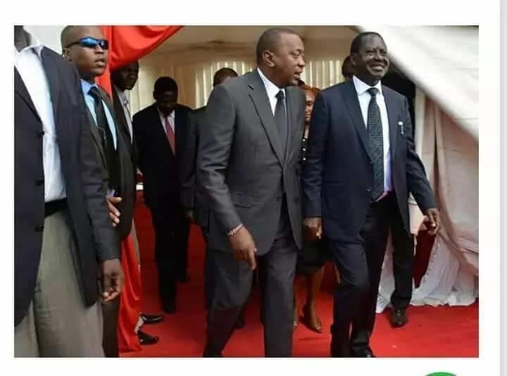 Salamu yangu na Raila haikuhusu 2022, wanaopenda ghasia wanahangaika bure - Uhuru