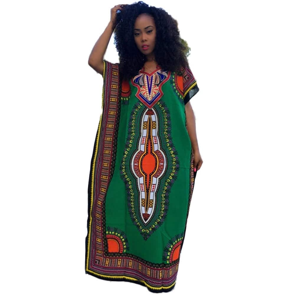Dashiki straight dress