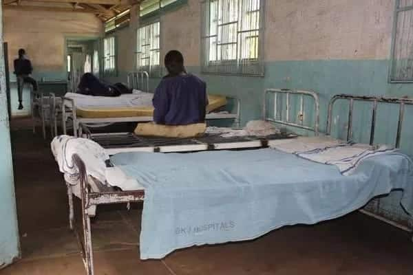 Foreign lady stuck at Kisumu hospital with newborn and lost memory