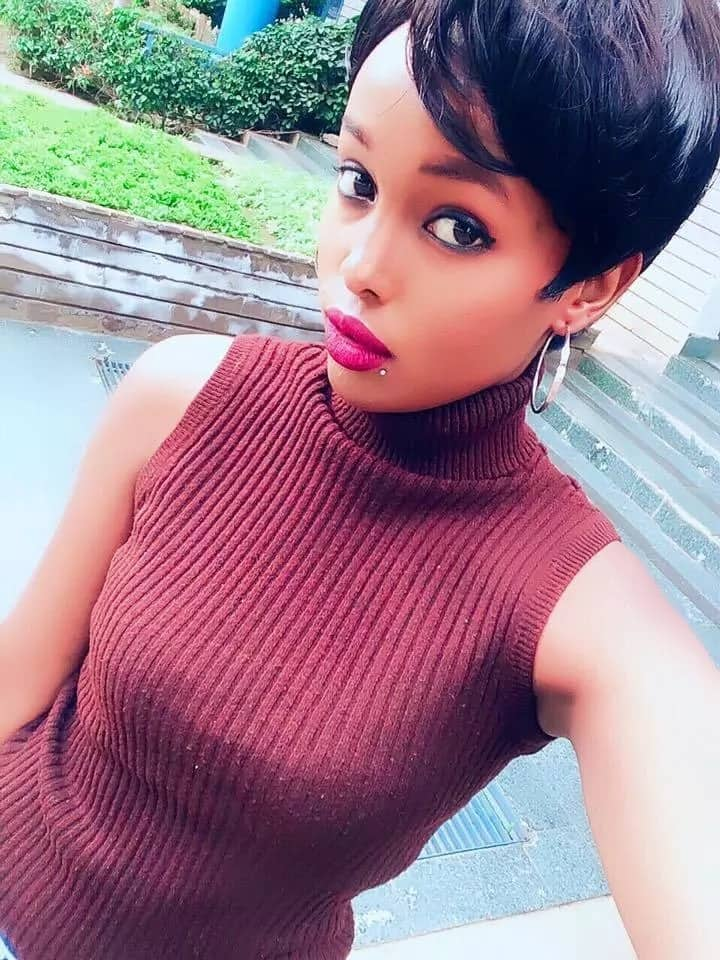 Meet socialite Huddah Munroe's lookalike sister from another mother