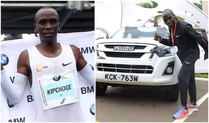 Brand new KSh 20 million machine awaits Eliud Kipchoge after Berlin Marathon win