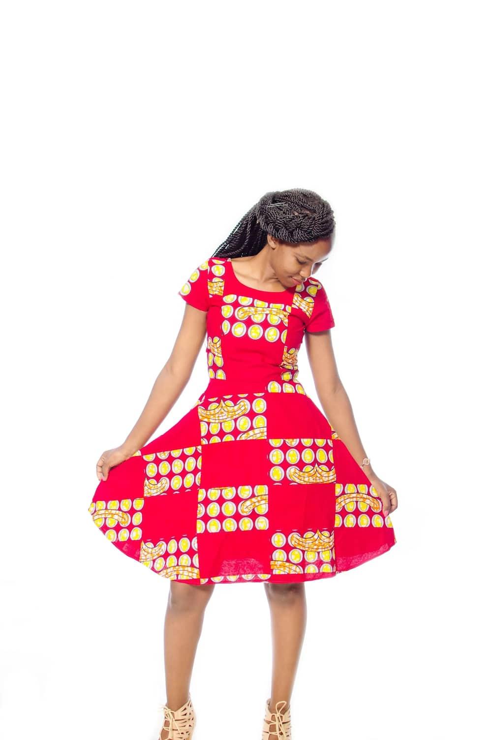 Kitenge designs for slim ladies