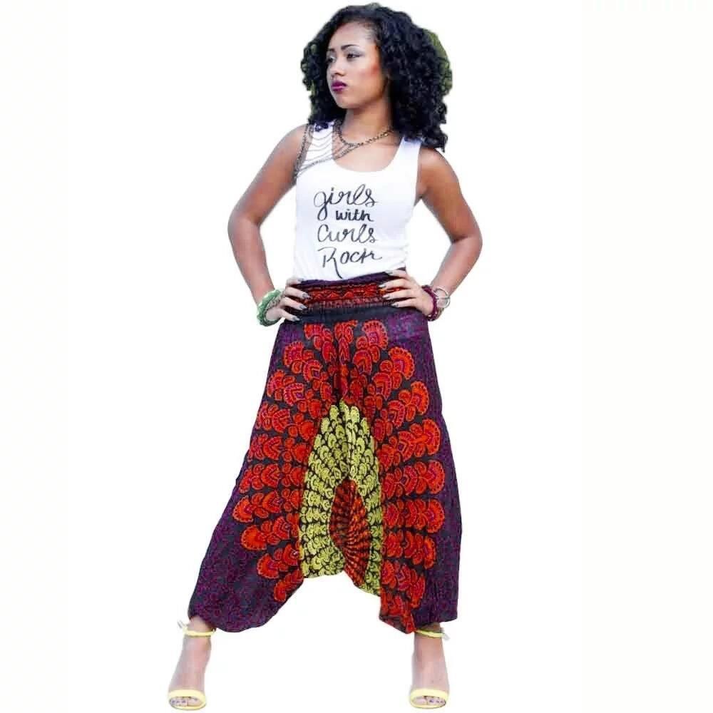 Fashionable ankara pants