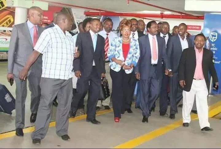 Kalonzo accompanies Uhuru to China a month after resolving to work with government