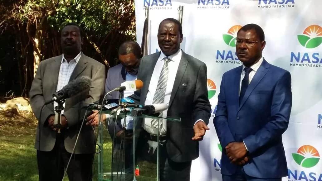 Kalonzo cries as Raila explains he is going through difficult time