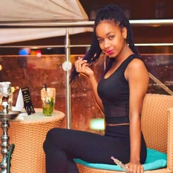 Controversial Kenyan socialite Vanessa Chettle finally unveils daughter's face months after delivery