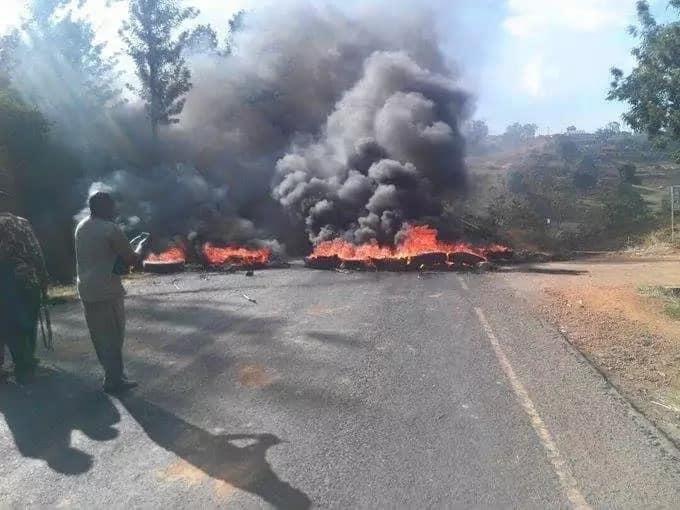 Violent protests mar the end of Uhuru's Meru visit