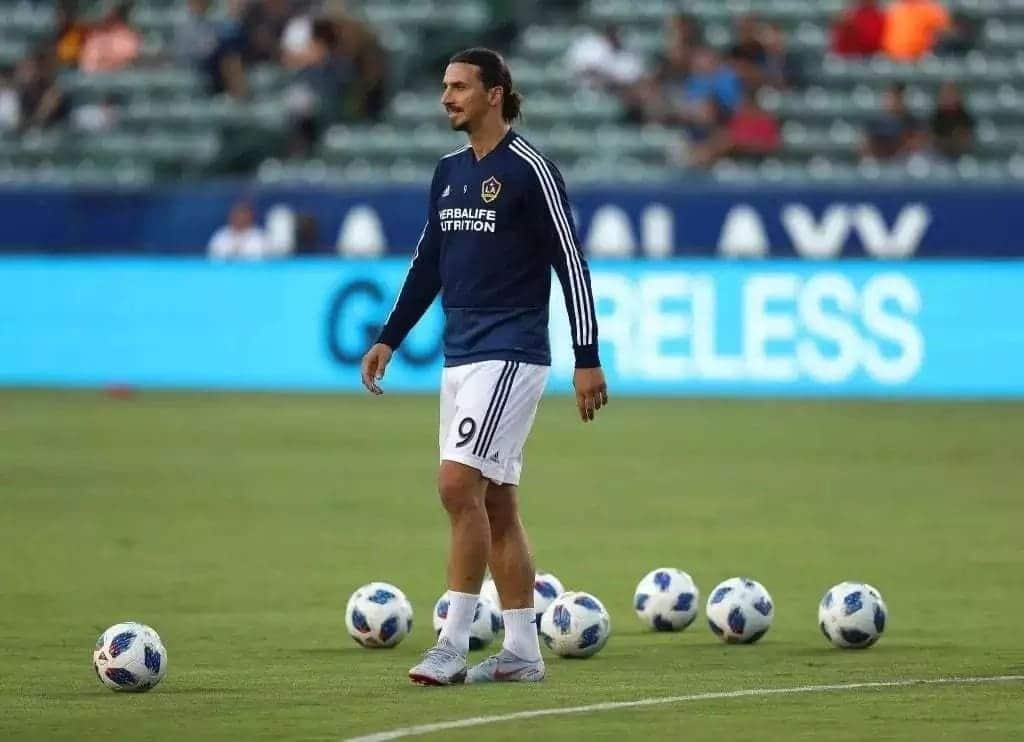 LA Galaxy's Zlatan Ibrahimovic drums support for Jose Mourinho despite criticism