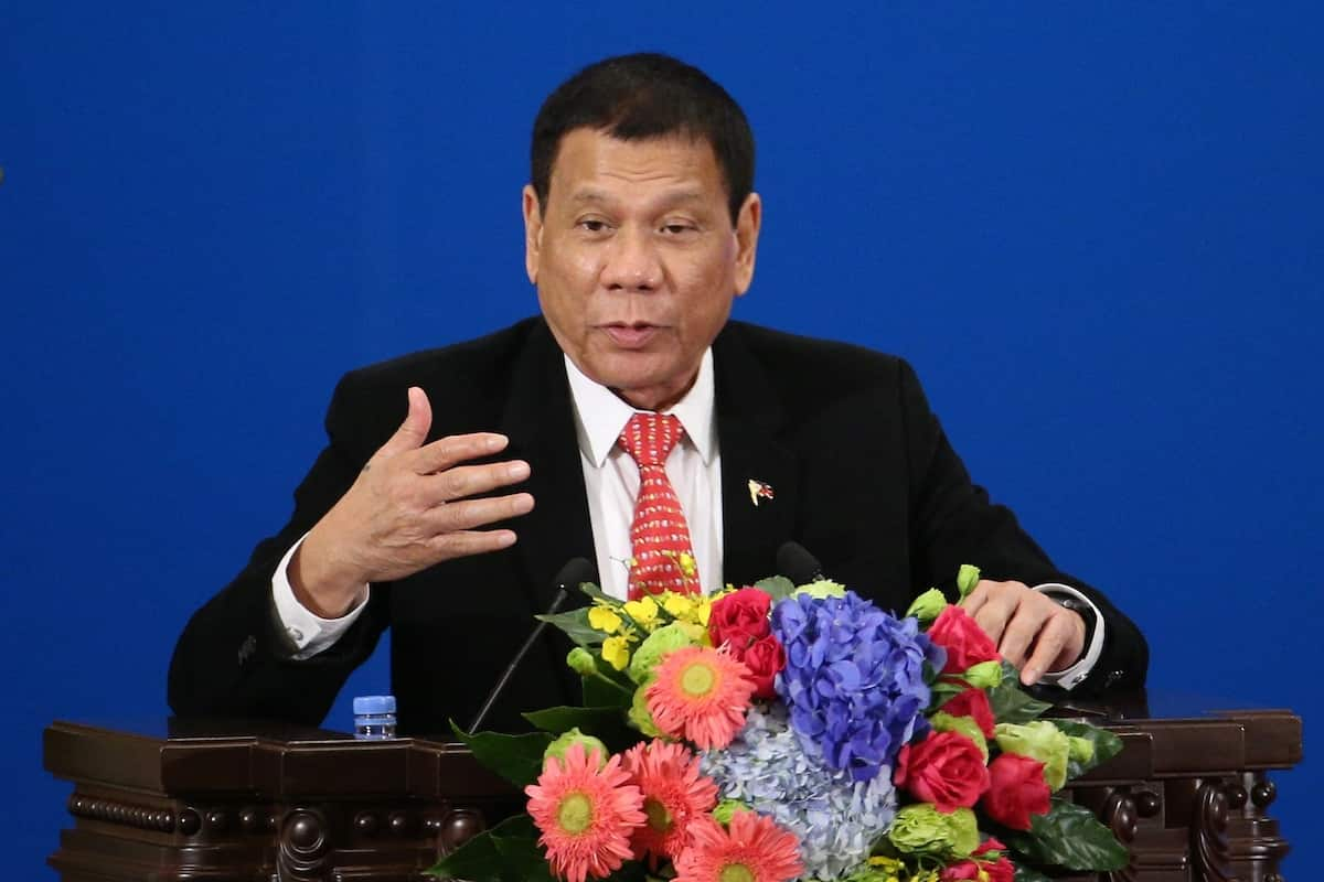 Phillipine President ready to step down if anyone can prove to him God exists