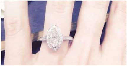 Bride-to-be, 27, puts up her Ksh600,000 gold engagement ring for sale because her fiancé turned GAY