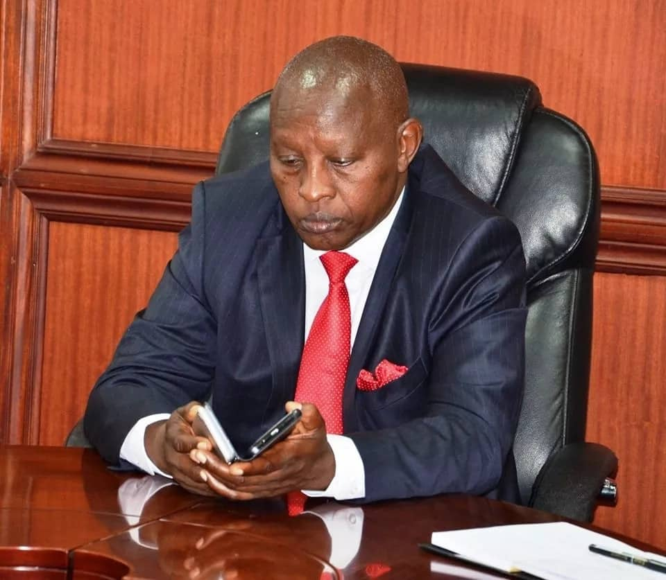 Nyeri county dismisses claims governor has travelled to the US for treatment