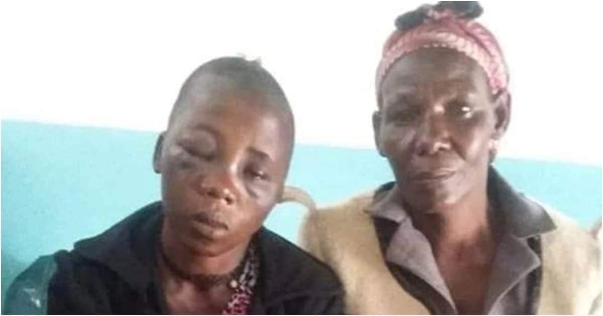 Government donates food to children of Makueni woman filmed being beaten by abusive husband