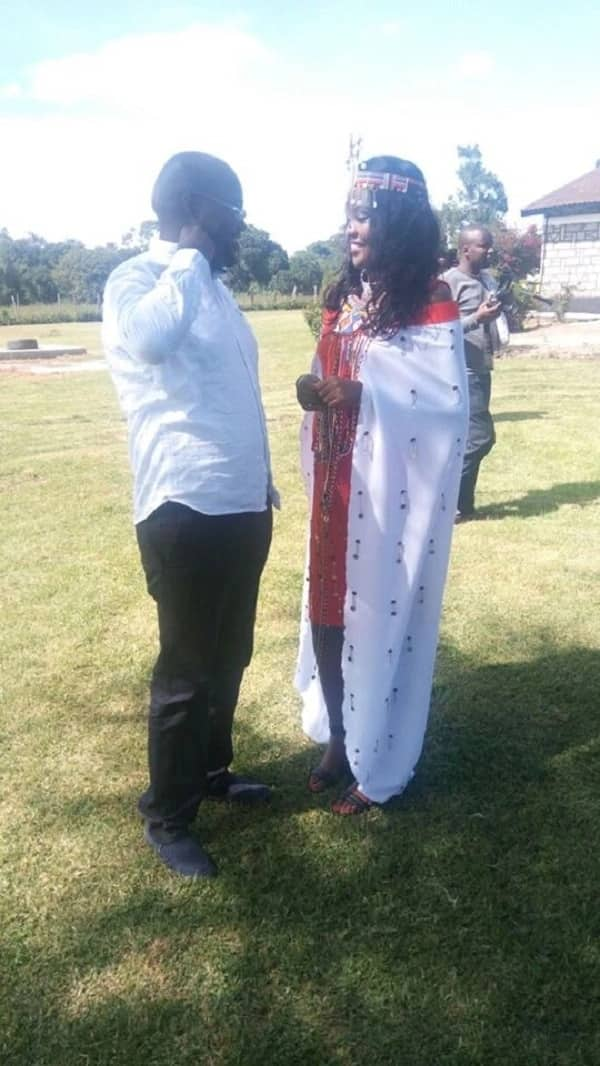 44 year old KANU MP finally says I do to long-time lawyer fiancée at colourful traditional wedding