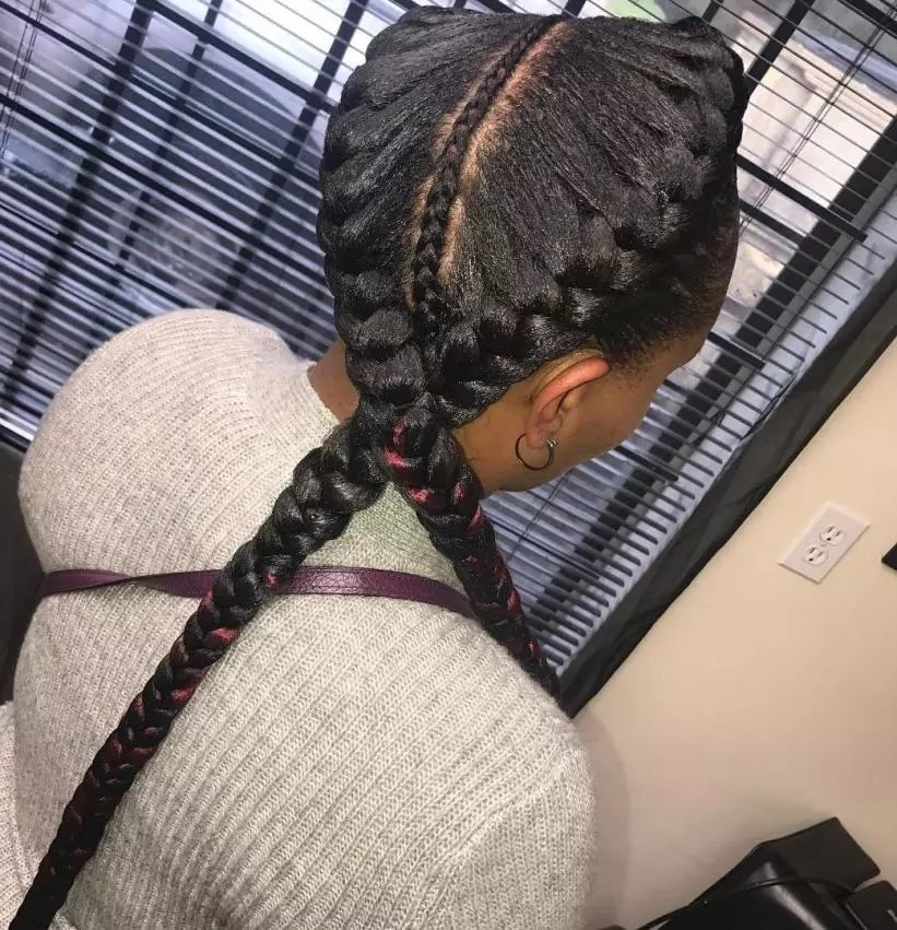 Latest African Hairstyles Braids 2020 Updated Tuko Co Ke