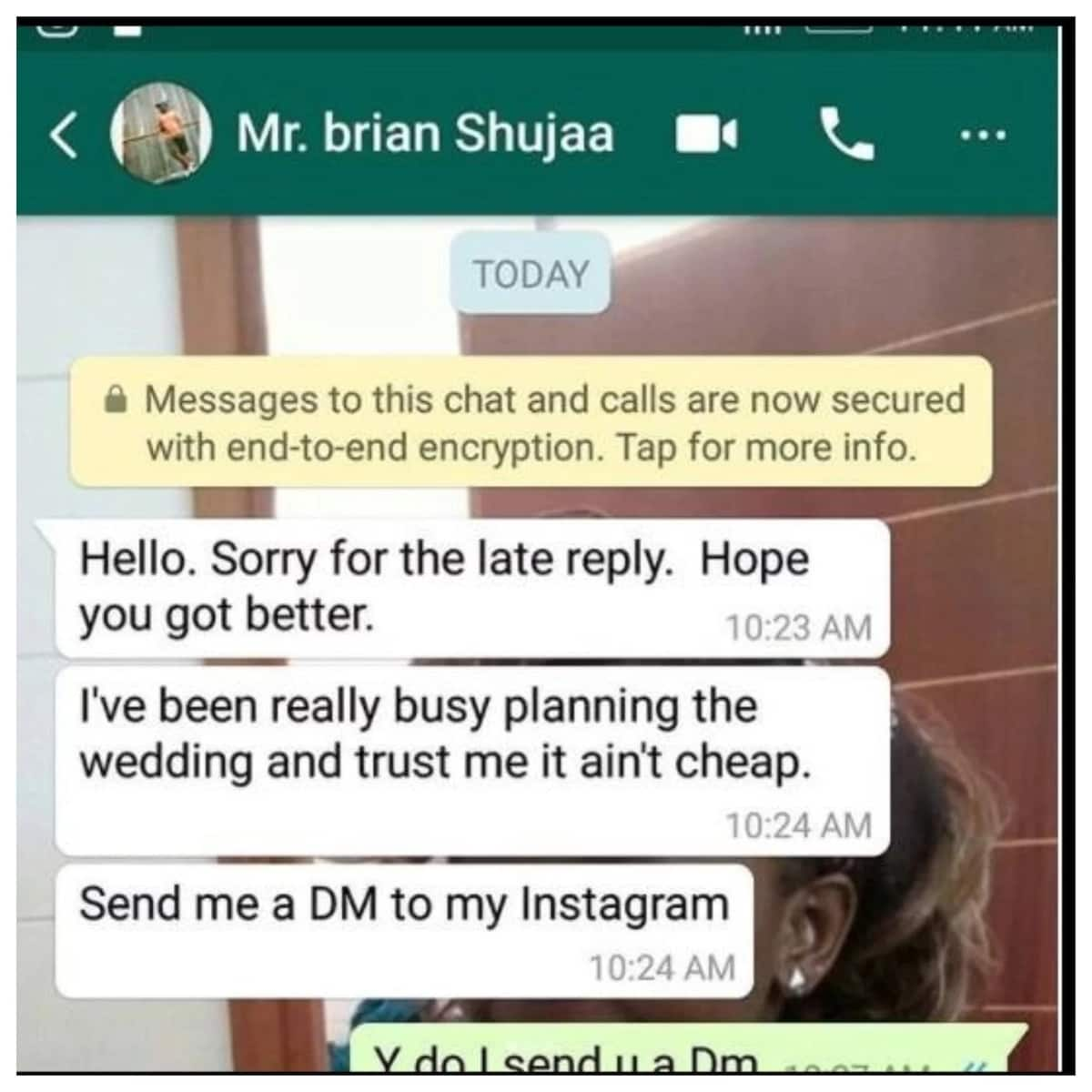 Riser Faith's fiance caught cheating months after paying KSh 2 million dowry