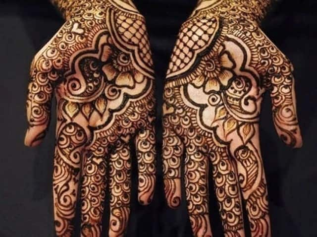 Simple henna designs for hands
