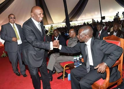 Gideon Moi courts Raila for a 2022 alliance against William Ruto