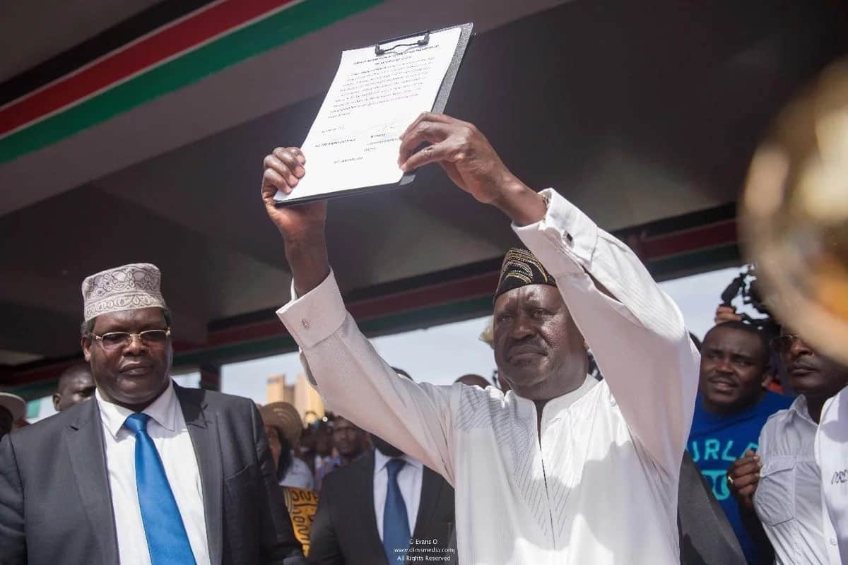 You're putting Kenya at risk - African Union tells Raila over his mock swearing-in
