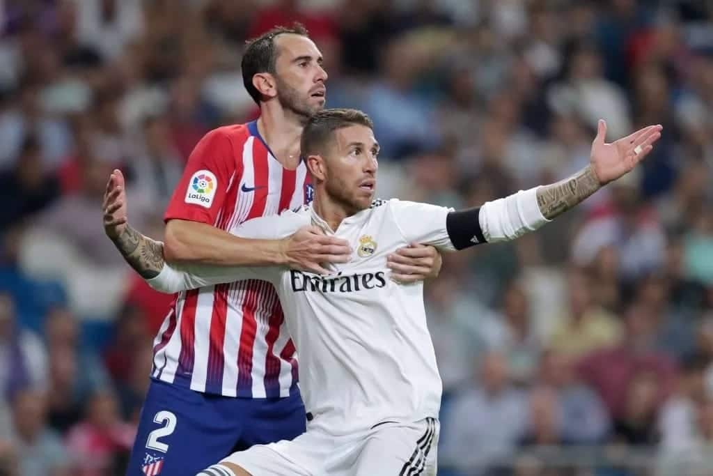 Real Madrid and Atletico Madrid settle for 0-0 draw after high-voltage derby