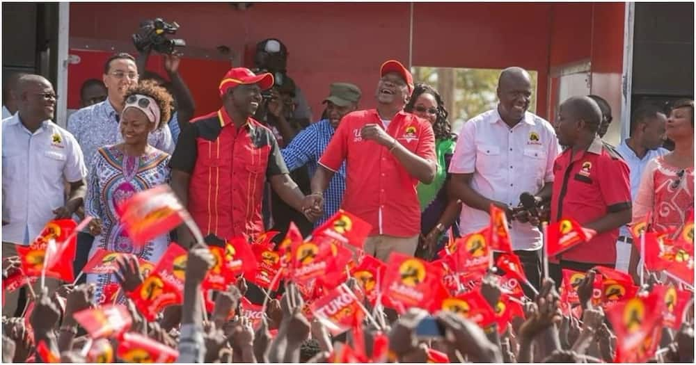 Ruto says Raila is not his enemy but political competitor
