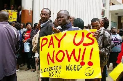 Crisis as teachers are told there is no December pay during Christmas