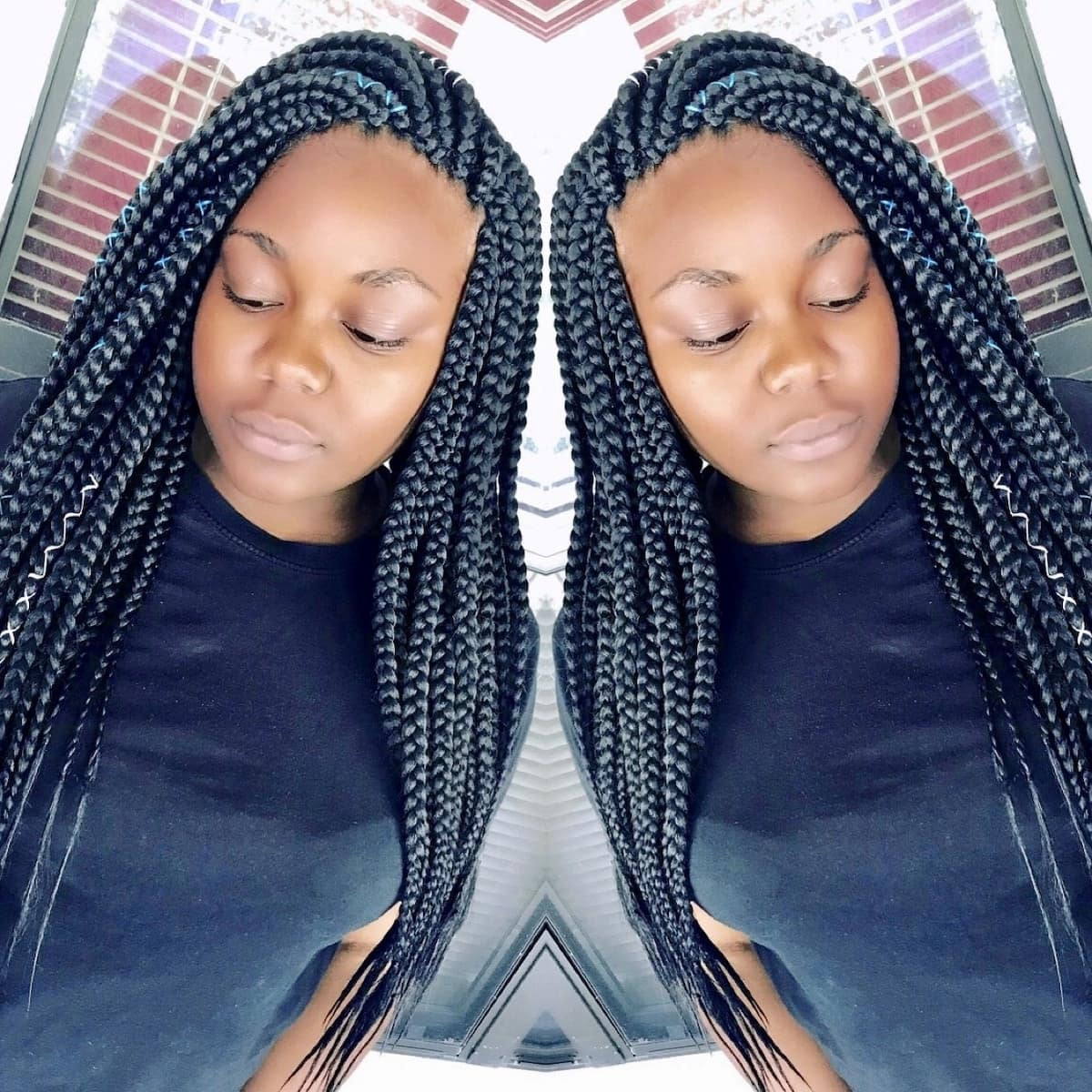 how to style braids styling braids how to style long braids hairstyles for braids