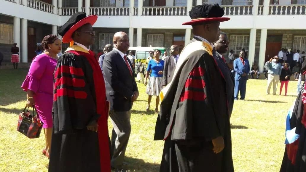 Gideon Moi officially inaugurated as Kabarak University Pro-chancellor