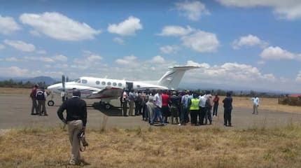 Bush Airlines launches first ever 25 minutes Nairobi-Nyeri flights