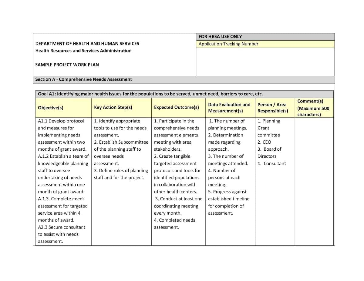 work plan definition project work plan template develop a work plan work plan examples for employees