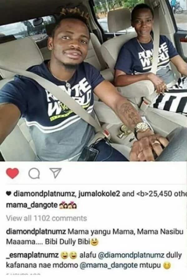 Familia ya Diamond yamkubali mwana mvulana wa Hamisa Mobetto siku chache baada ya Diamond kuachana na Zari