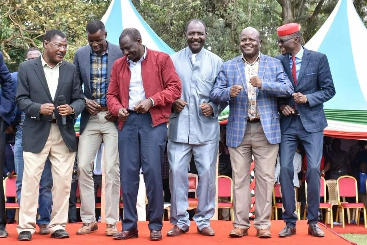 Western MPs join Ruto in opposing referendum if the aim is to create more political positions