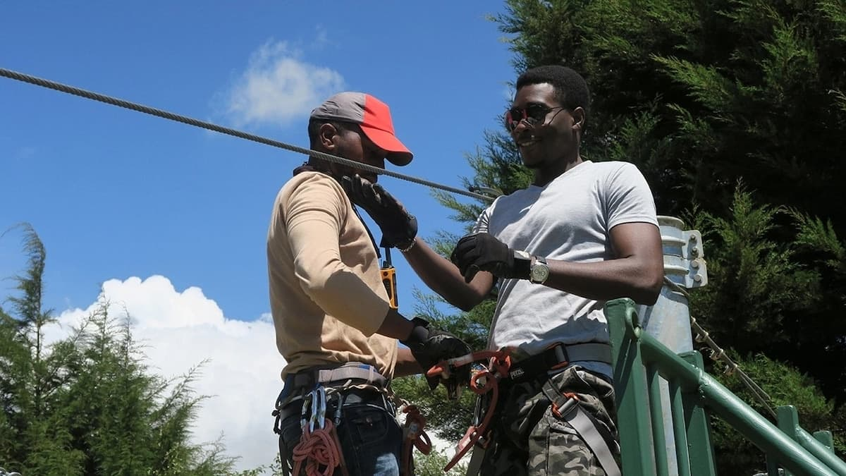 Top places for zip lining in Kenya and their charges