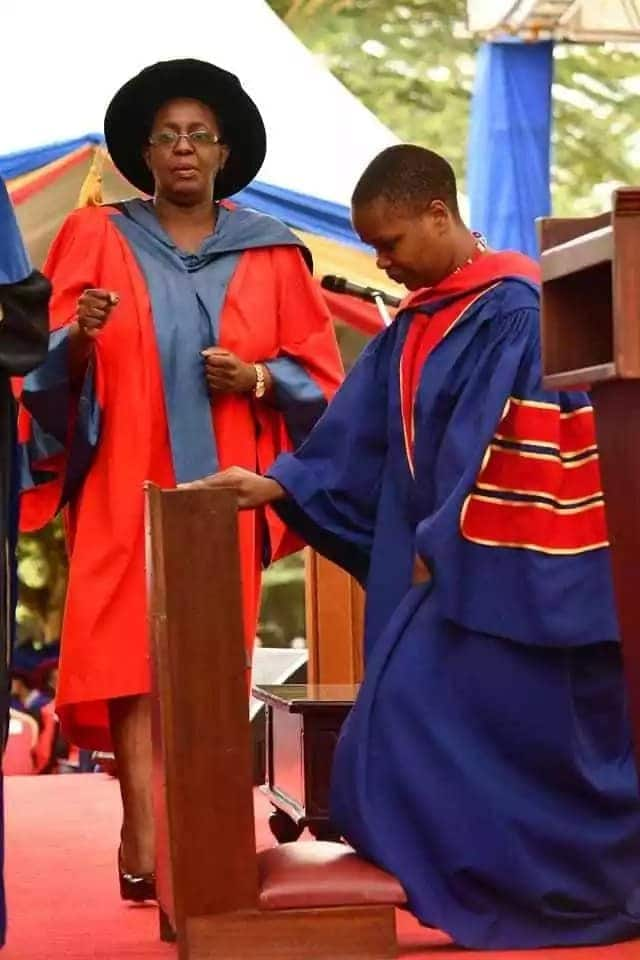 Nyeri lady from a humble background becomes the youngest doctor of biomathematics