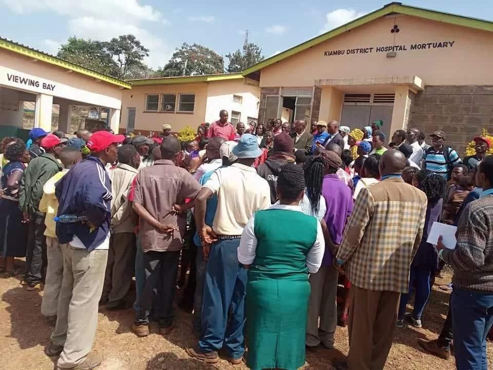 Mochari ya hospitali kuu Kiambu yaomba kurejeshwa kwa maiti zote za kiume, mfu kapotea