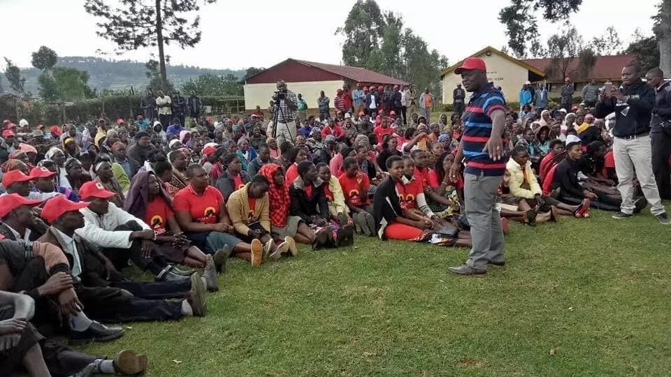 Ushindi wa NASA Kitutu Chache Kusini umemuuma sana Duale. Makubwa!