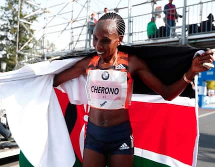 Uhuru promises more support for Kenyan athletes after Kipchoge, Cherono Berlin Marathon win