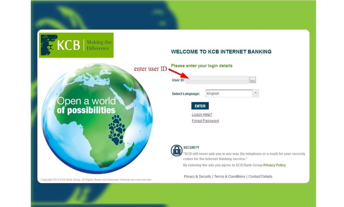 KCB online banking
