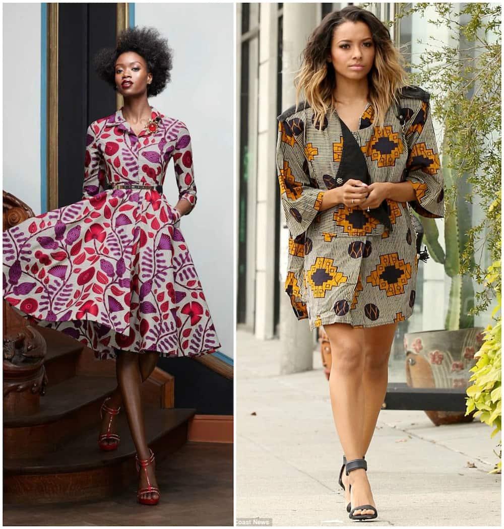 African Print Fancy Maternity Dresses: Nice Formal African Print Dresses Styles In 2019 Tuko.co.ke