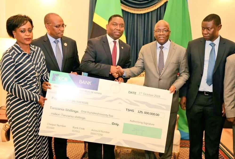 Kenya donates KSh5.5 million to Tanzania for families of over 200 victims killed in Ferry disaster