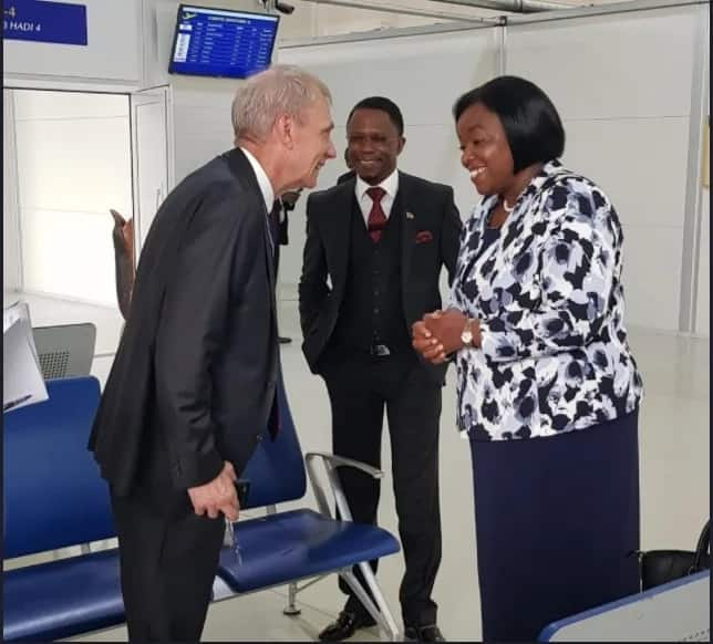 US Secretary of State jets in the country shortly after Uhuru and Raila meeting
