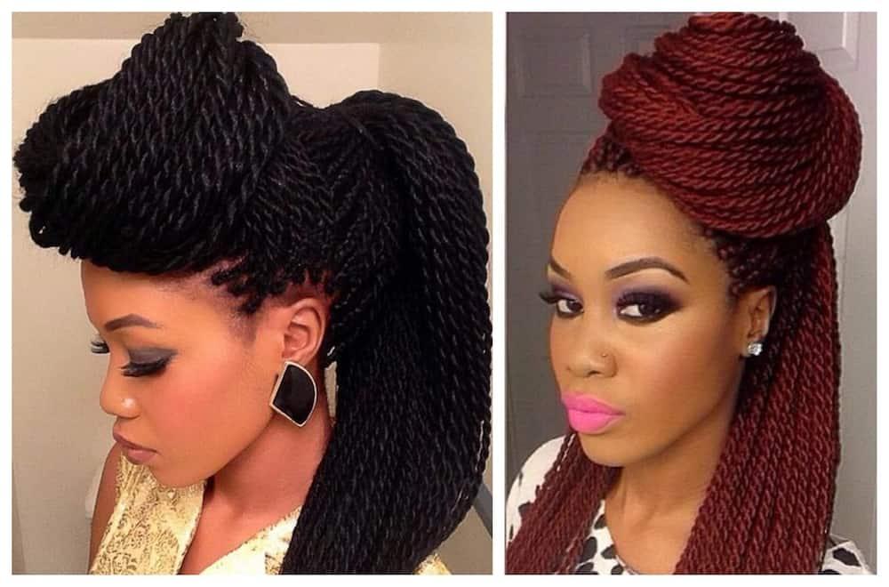 Latest Senegalese Twist Hairstyles